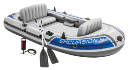 Nafukovací čln Intex Excursion 4 set